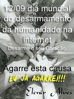 DESARMAMENTO DA HUMANIDADE NA INTERNET