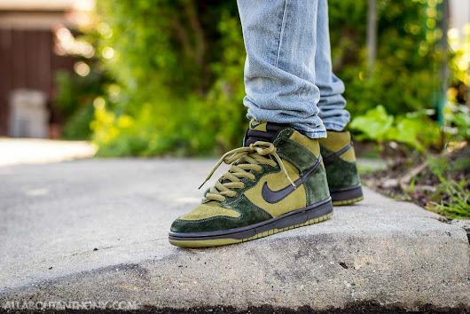purchase cheap c6de1 d281b ... discount code for nike sb dunk high hulk on feet sneaker review 5ad4e  85794 ...