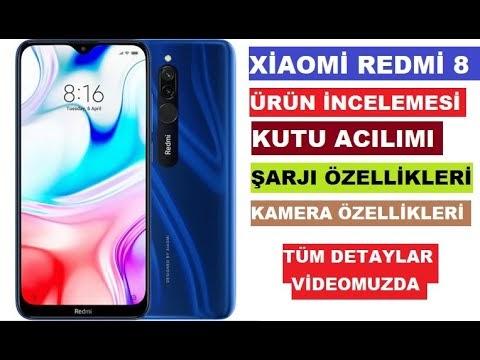 Xiaomi Redmi 8 32GB incelemesi ve kutu acılımı