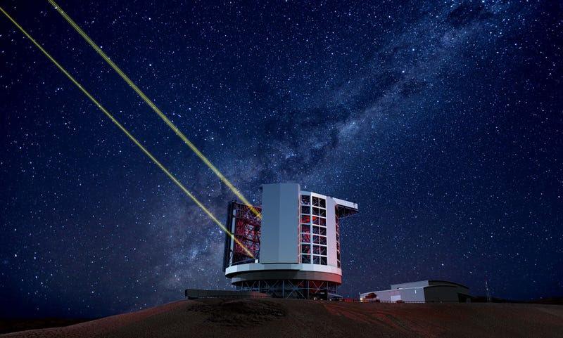 Así es el Telescopio Gigante de Magallanes, que comienza a construirse en Chile