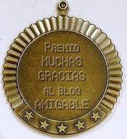 "PREMIO: ""Blog amigable"""