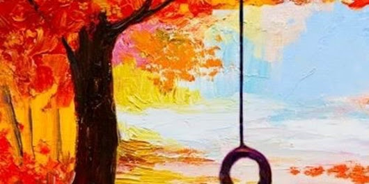 """Fall Tire Swing"" Painting at the Pub - Family Weekend for All Ages"