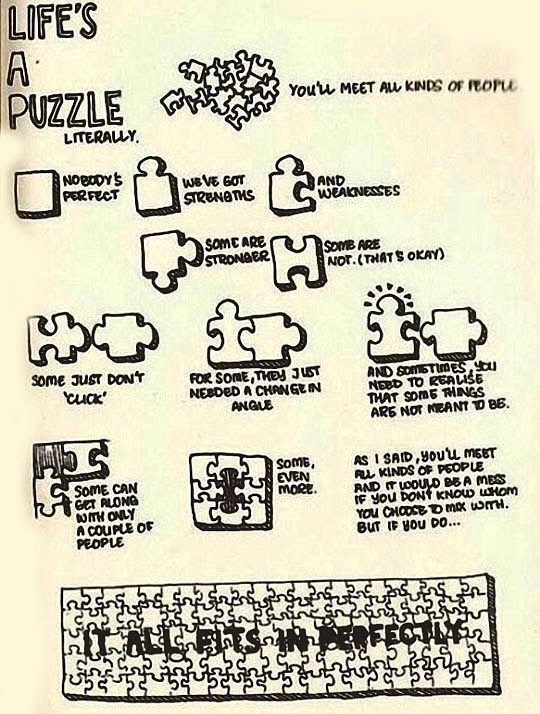 Lifes A Puzzle