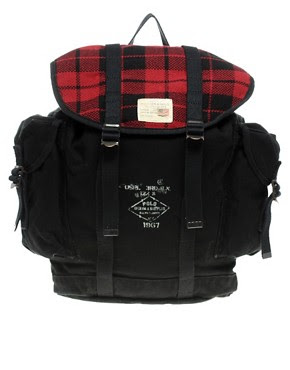 Image 1 ofDenim & Supply By Ralph Lauren Plaid Backpack