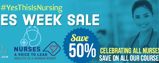 Nursing Week Celebration Sale on all of our Courses! | Nursing Informatics Learning Center