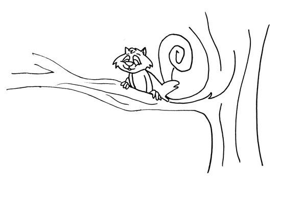 Agaclarnet Ağaçtaki Sincap