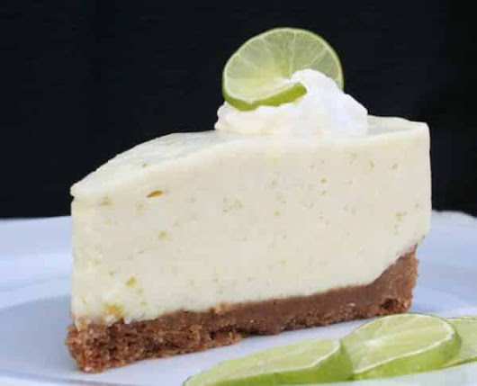 Key Lime Cheesecake: Freshly Squeezed