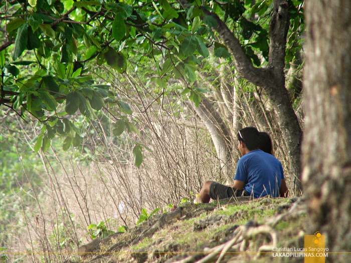 Lovers at Iligan's Centennial Park