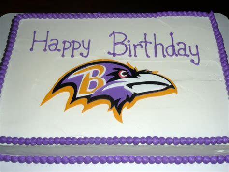 Pin Ravens Birthday Cake ? Football Nfl Cake on Pinterest