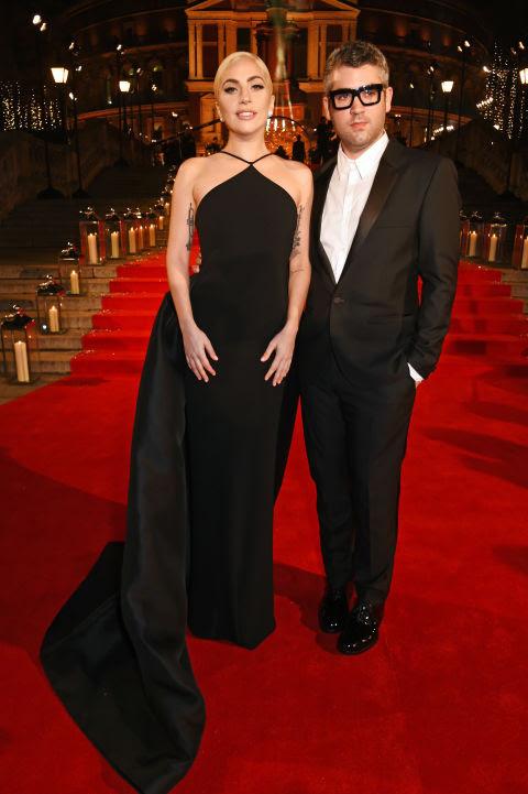 lady gaga brandon maxwell british fashion awards