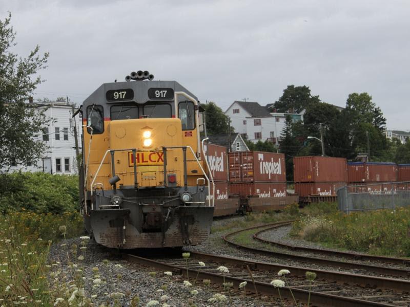 HLCX 917 in Saint John