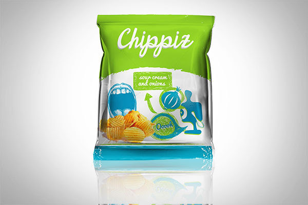 Chippiz Chips Packaging Design 3 30+ Crispy Potato Chips Packaging Design Ideas