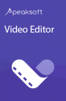 Giveaway: Apeaksoft Video Editor for FREE