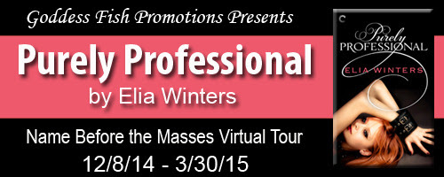 Purely Professional ~ Elia Winters ~ Name Before The Masses Tour, #Interview & #Giveaway