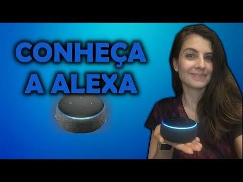 Echo Dot ALEXA traz mais diversão para meus dias! Conheça também!
