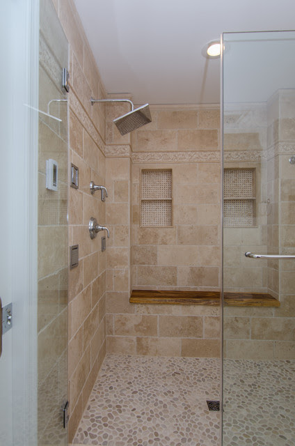 Roman Romance - Mediterranean - Bathroom - dc metro - by Abbey Design Center