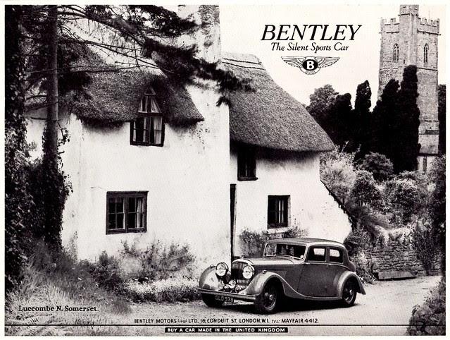 1938 Bentley 4-1/4 Litre Saloon