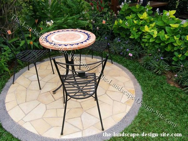 Small Concrete Patio Design Ideas
