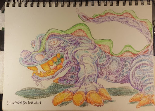 Sea Weed Dragon - Launi Art