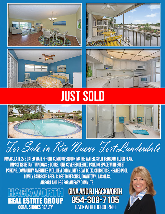 Rio Nuevo Condo Just Sold in Fort Lauderdale Florida