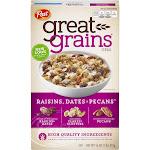 Post Great Grains Cereal, Raisins Dates & Pecans - 16 oz box