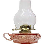 21st Century Products L392APK Lite Hearted Oil Lamp, Pink