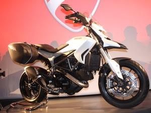 Ducati Hyperstrada (Foto: Rafael Miotto / G1)