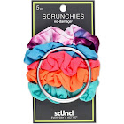 Conair Scunci Everyday & Active No Damage Scrunchies with Keeper - 5pk, Multi-colored