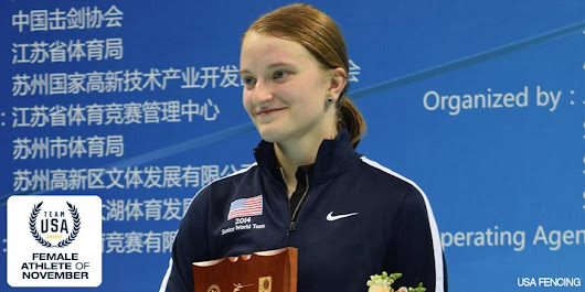 Anna van Brummen Honored as USOC Athlete of the Month