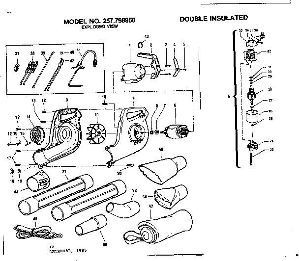 26 craftsman leaf blower carburetor diagram