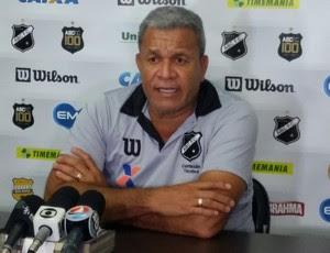 Hélio dos Anjos - técnico do ABC (Foto: Jocaff Souza/GloboEsporte.com)