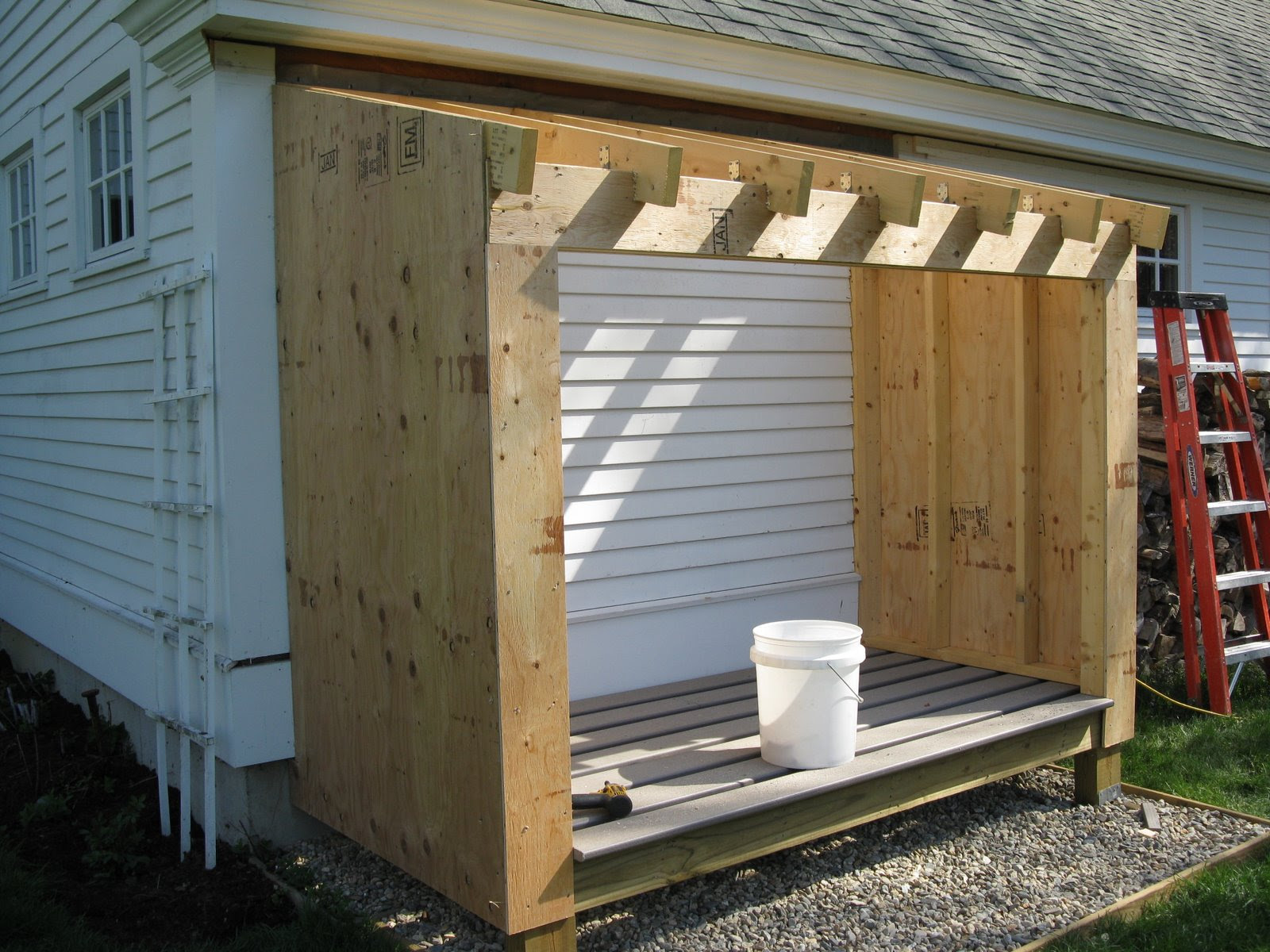 Building A Wood Shed - A Concord Carpenter