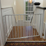 Cardinal Gates Stairway Special Pet Gate - White
