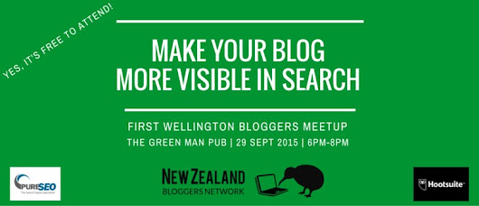 Wellington Meetup: Make your Blog More Visible in Search