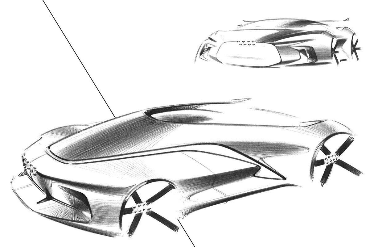 Audi Concept Design Sketch by Gaurang Nagre 06