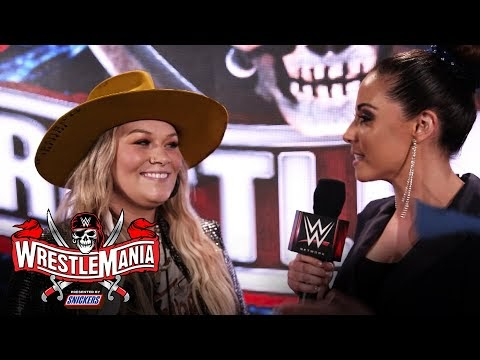 Ashland Craft reflects on historic performance: WrestleMania 37 Exclusive, April 10, 2021