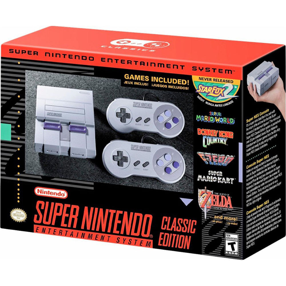 The SNES Classic will be available for pre-order in late August screenshot