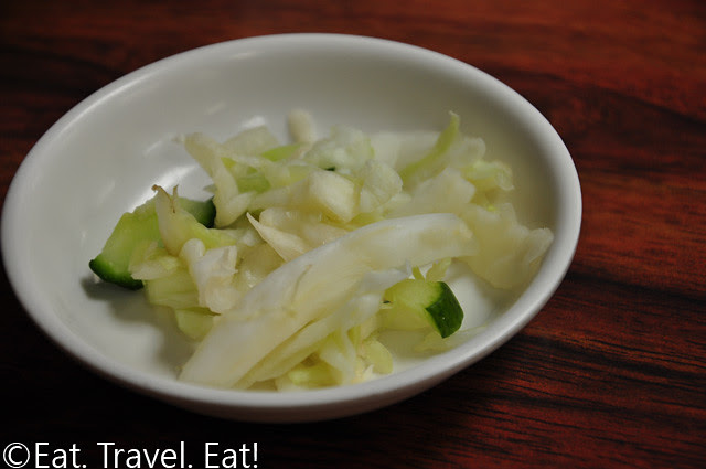 Cabbage and Cucumber Appetizer