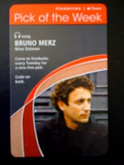 Starbucks iTunes Pick of the Week - Bruno Merz - Nine Sixteen