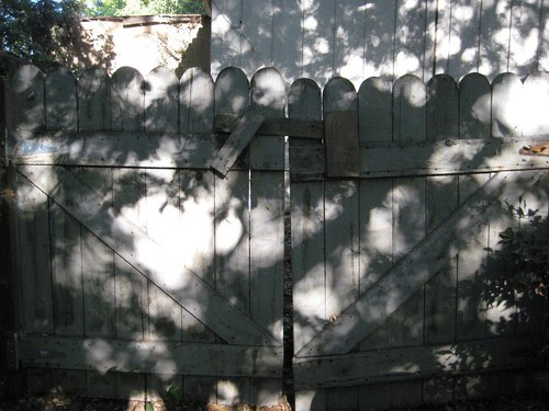 Old gate at the Casa