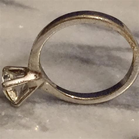 Avon Silver Vintage Sterling Engagement Ring   Tradesy