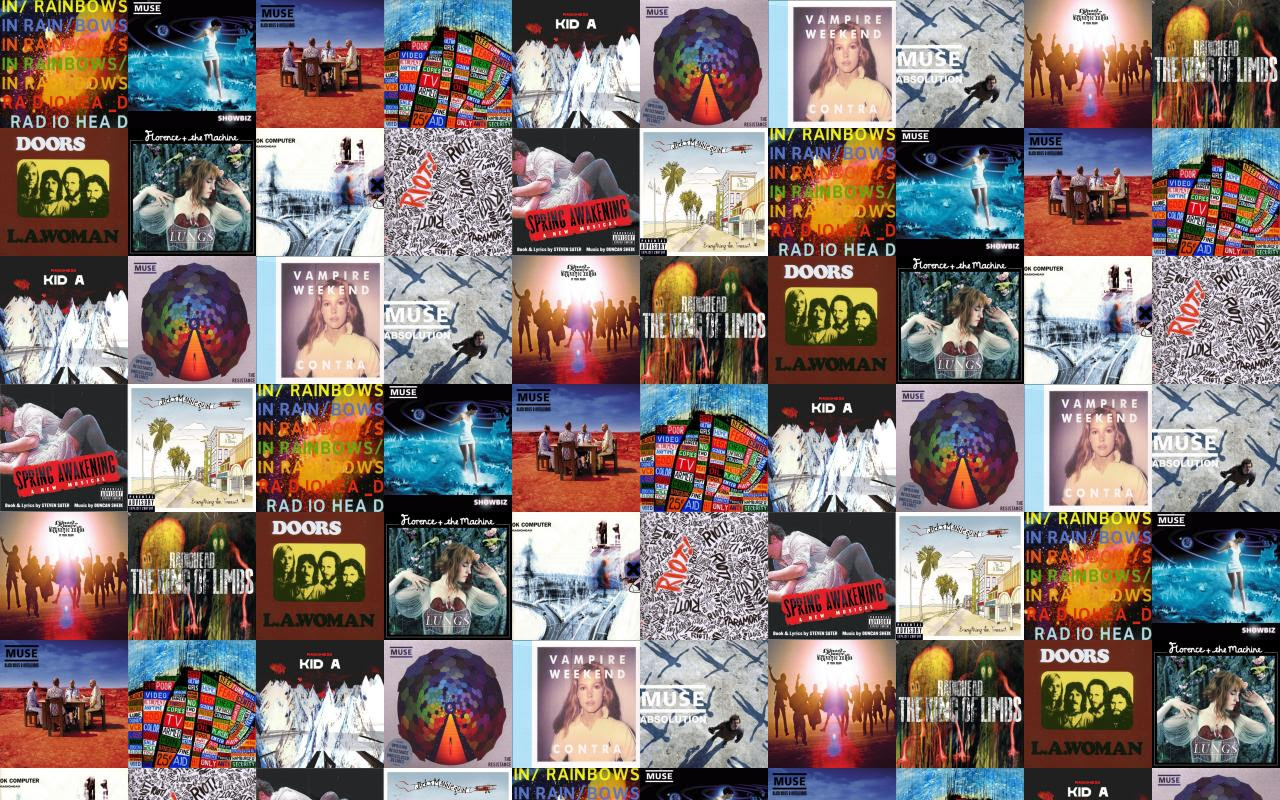 Radiohead In Rainbows Muse Showbiz Black Holes Revelations