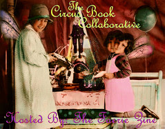 Faerie Zine Circus Book Swap Banner