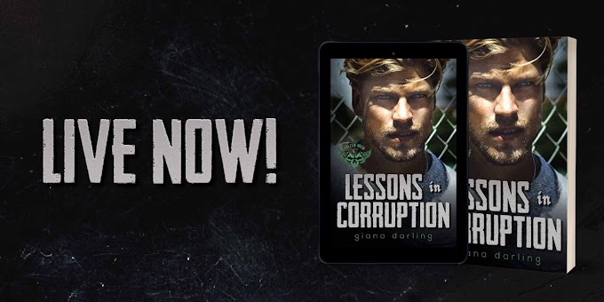 [New Release] LESSONS IN CORRUPTION by Giana Darling #TheNextStepPR #TheUnratedBookshelf