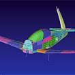 Faster FEA reduces processing time for aircraft modeling and results