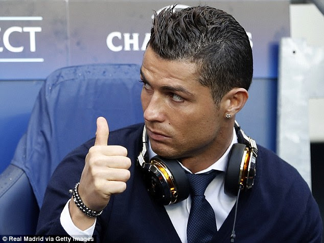 Having sat out the first leg of the semi-final in Manchester, Ronaldo is fit and firing once again