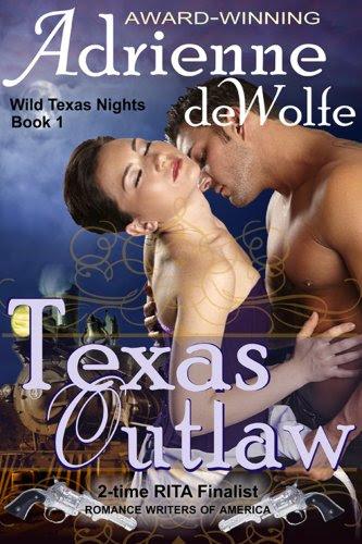 Texas Outlaw (Wild Texas Nights, Book 1) by Adrienne deWolfe