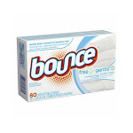Bounce 80070 Free and Gentle Fabric Softener Dryer Sheets, 80-count