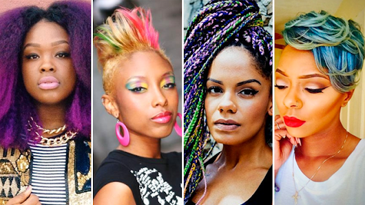 Rock The Rainbow: 23 Wild Color Hair Moments That Made Us Do A Double Take