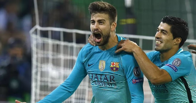 Gerard Pique reveals how he felt on Luis Suarez's Barcelona exit